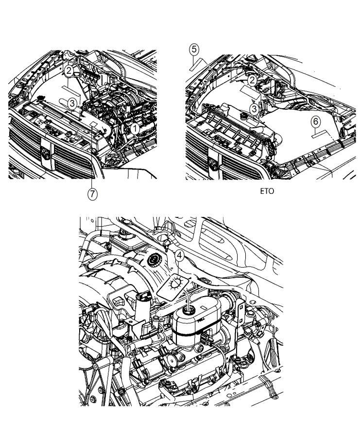 2015 Ram 2500 Label. Vehicle emission control information