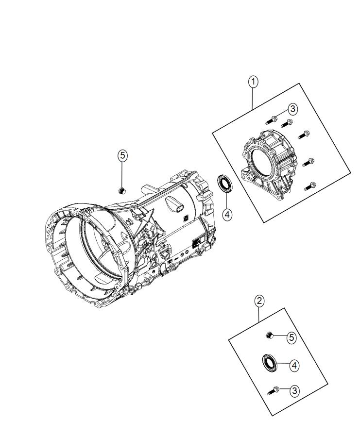 2015 Jeep Grand Cherokee Adapter. Transfer case
