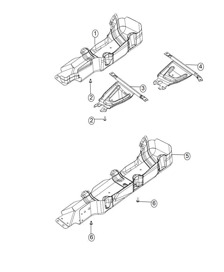 2012 Jeep Wrangler Skid plate. Fuel tank. Gallon, module