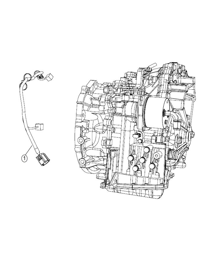 2015 Jeep Patriot Wiring. Jumper. Transmission. Train