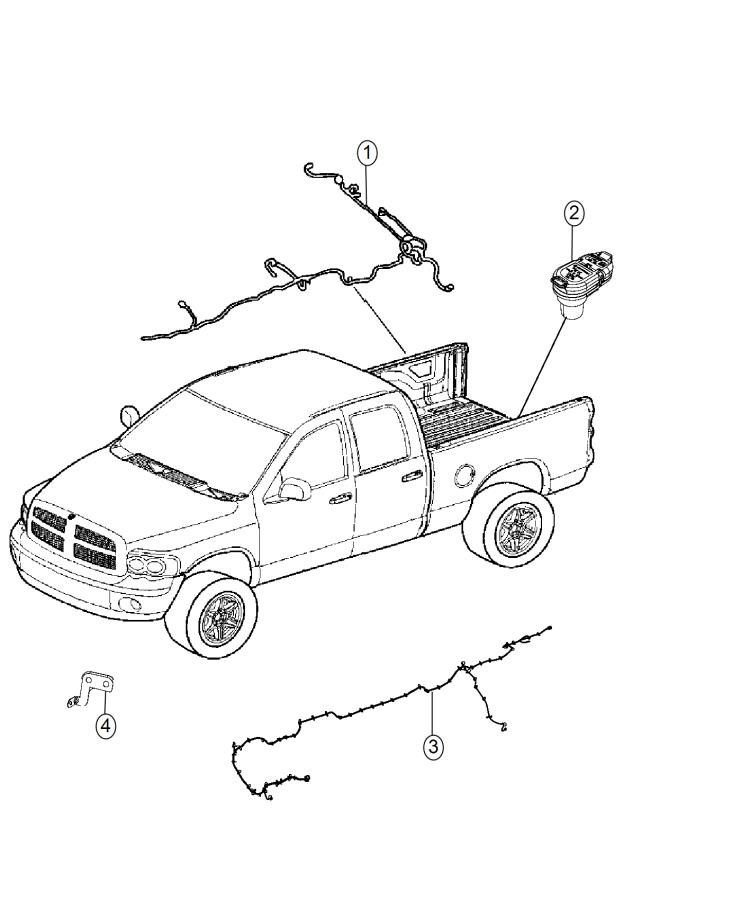 2017 Ram 1500 Wiring. Jumper. Air suspension. [ser
