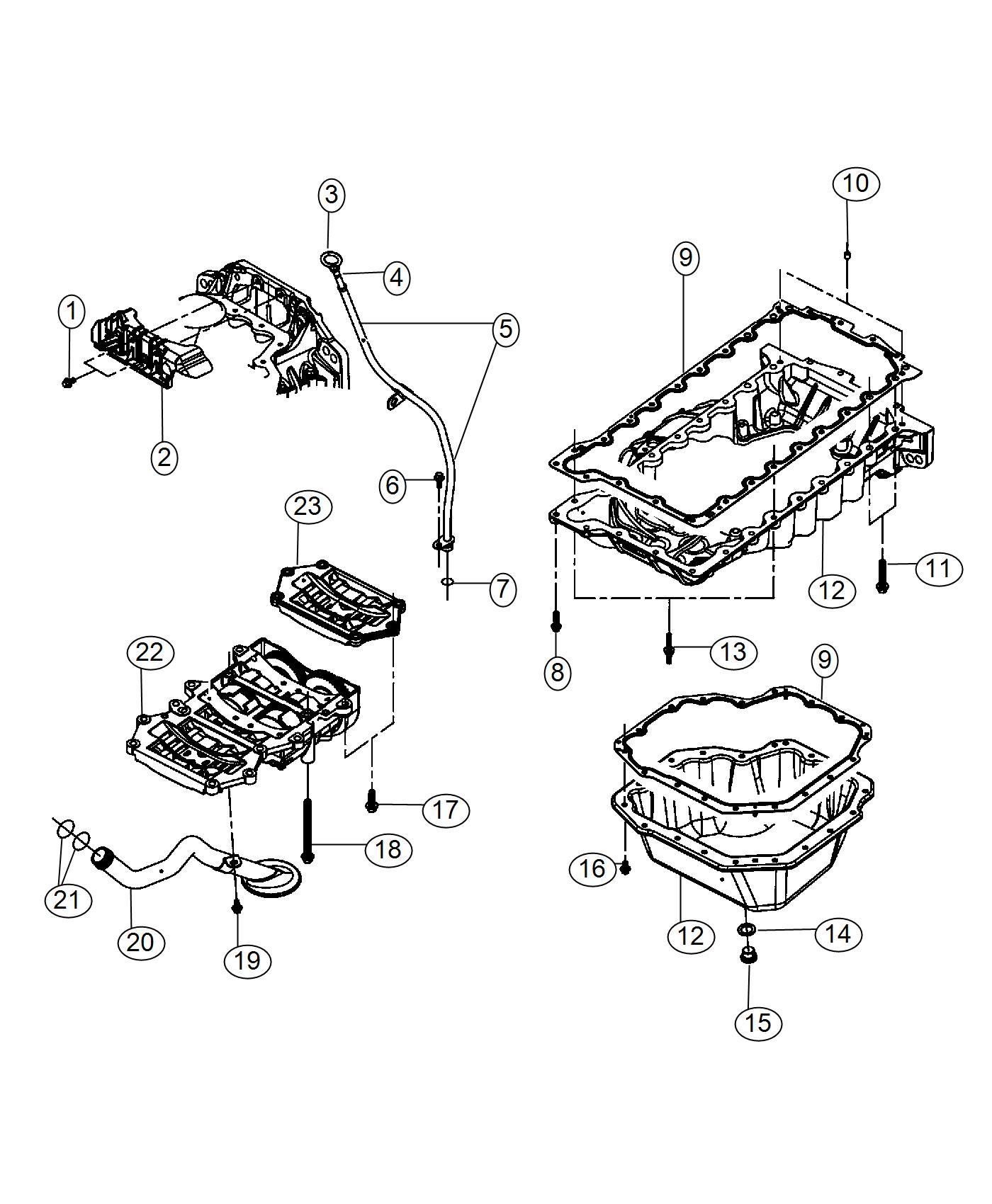 Chrysler Cirrus Plug Oil Drain