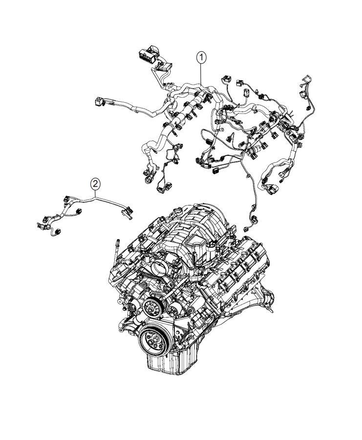 Dodge Charger Wiring. Engine. [engine oil cooler