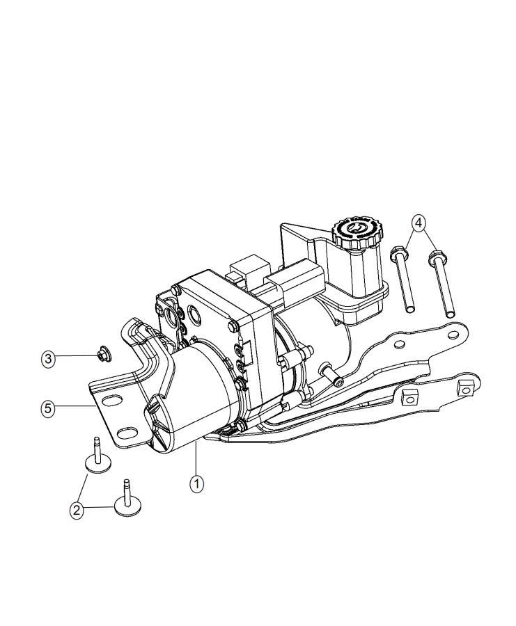 Dodge Charger Cap. Power steering reservoir. [6.2l v8