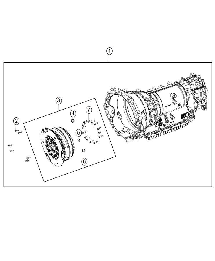 Dodge Charger Transmission, transmission kit. With torque