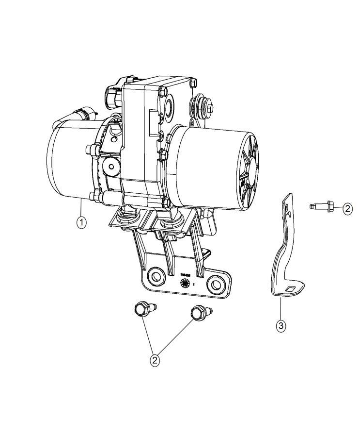 2015 Dodge Durango Pump. Power steering. Vvt, engine