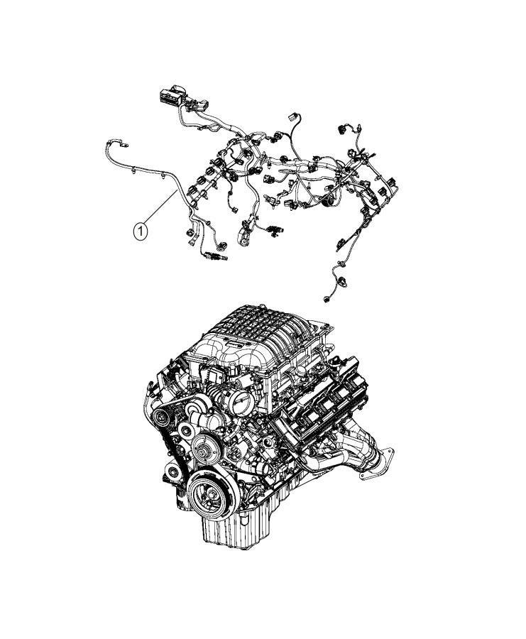 Dodge Charger Wiring. Engine. Powertrain, mopar