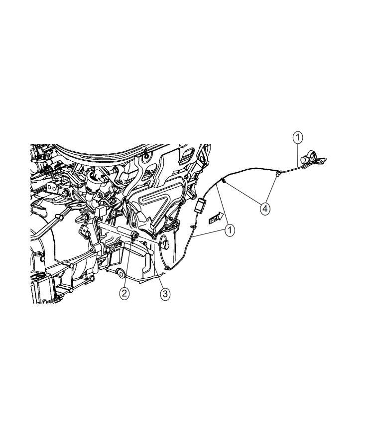 2015 Dodge Durango Cord. Engine block heater. [3.6l v6 24v