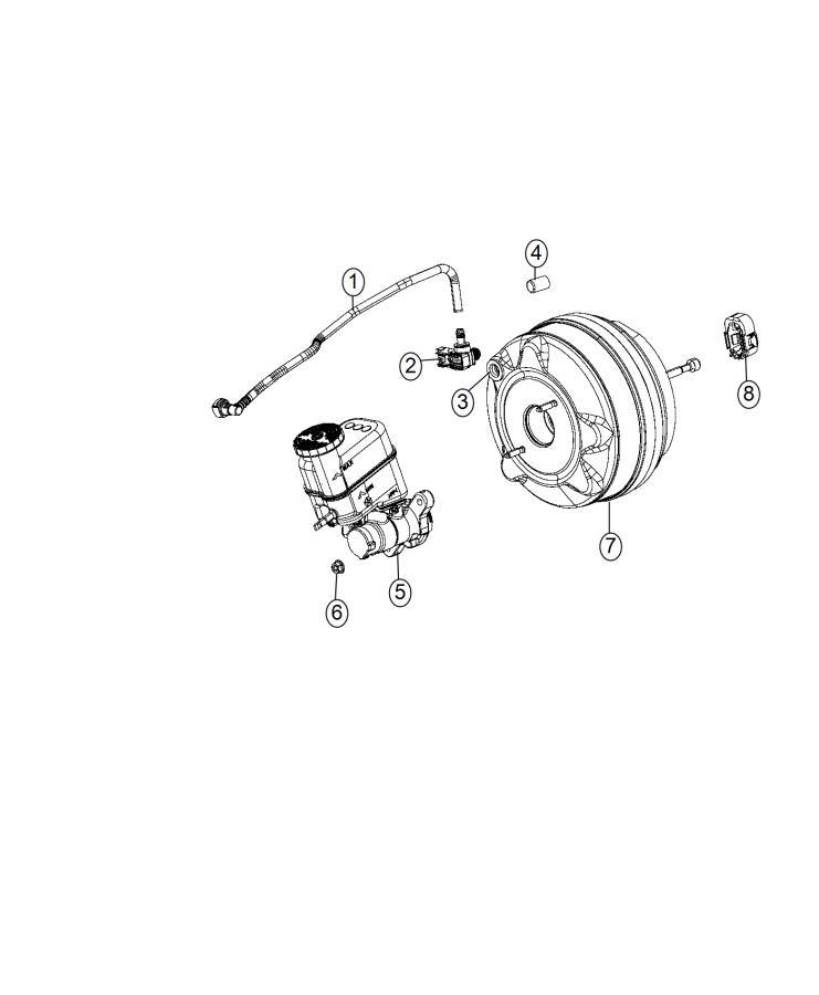 Ram 3500 Clip. Master cylinder push rod pin. Canada