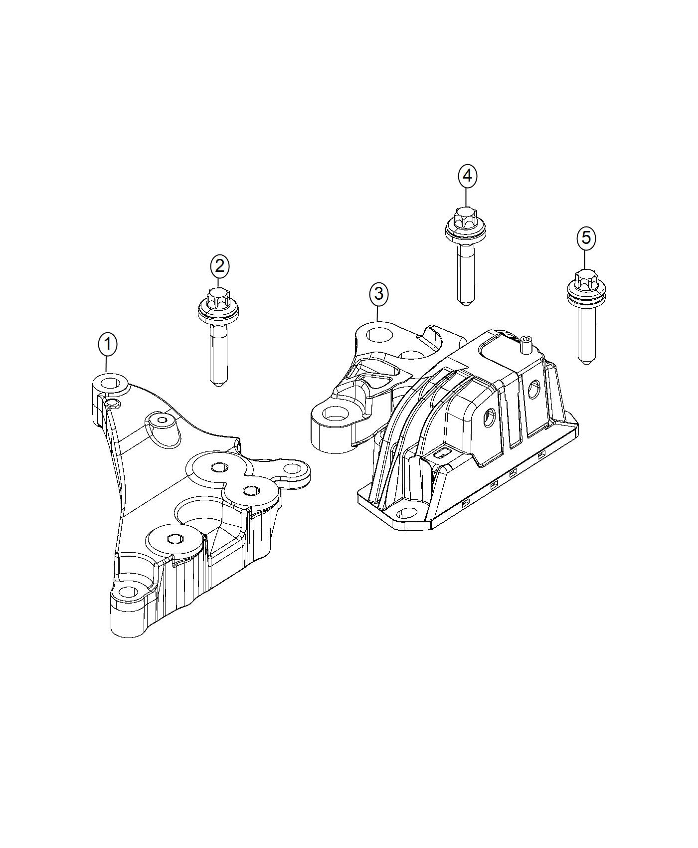 Ram Promaster City Wagon Isolator Engine Mount