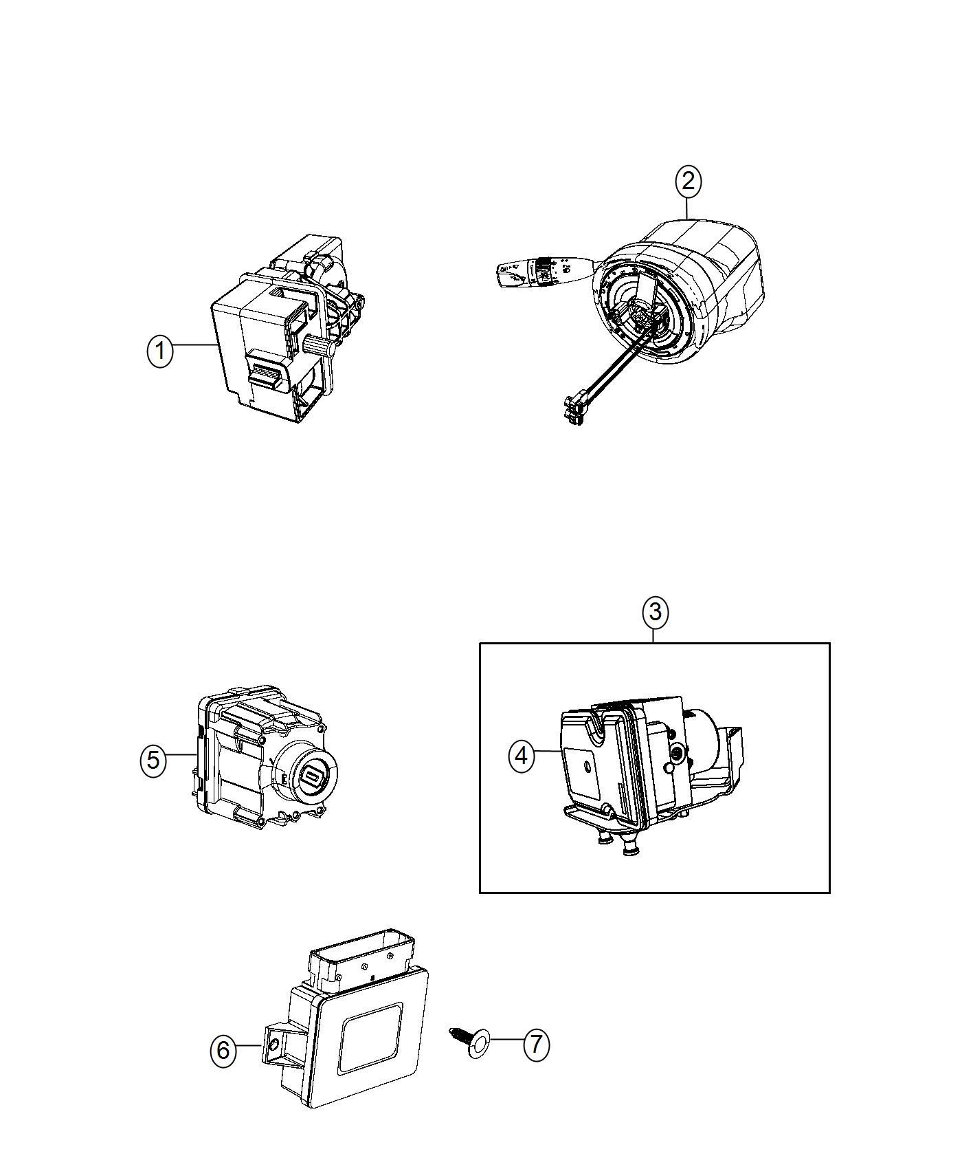 Jeep Cherokee Module. Anti-lock brake system. [adaptive