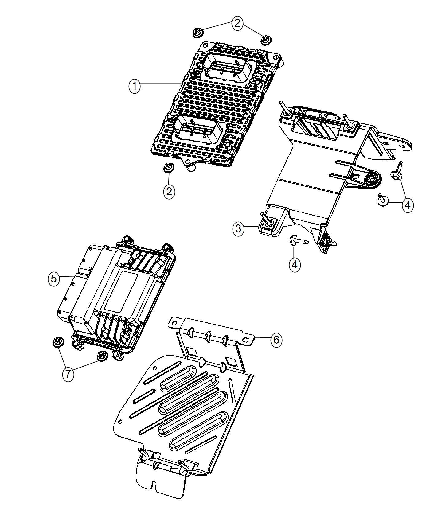 2015 Dodge Dart Module. Transmission control. [dmd