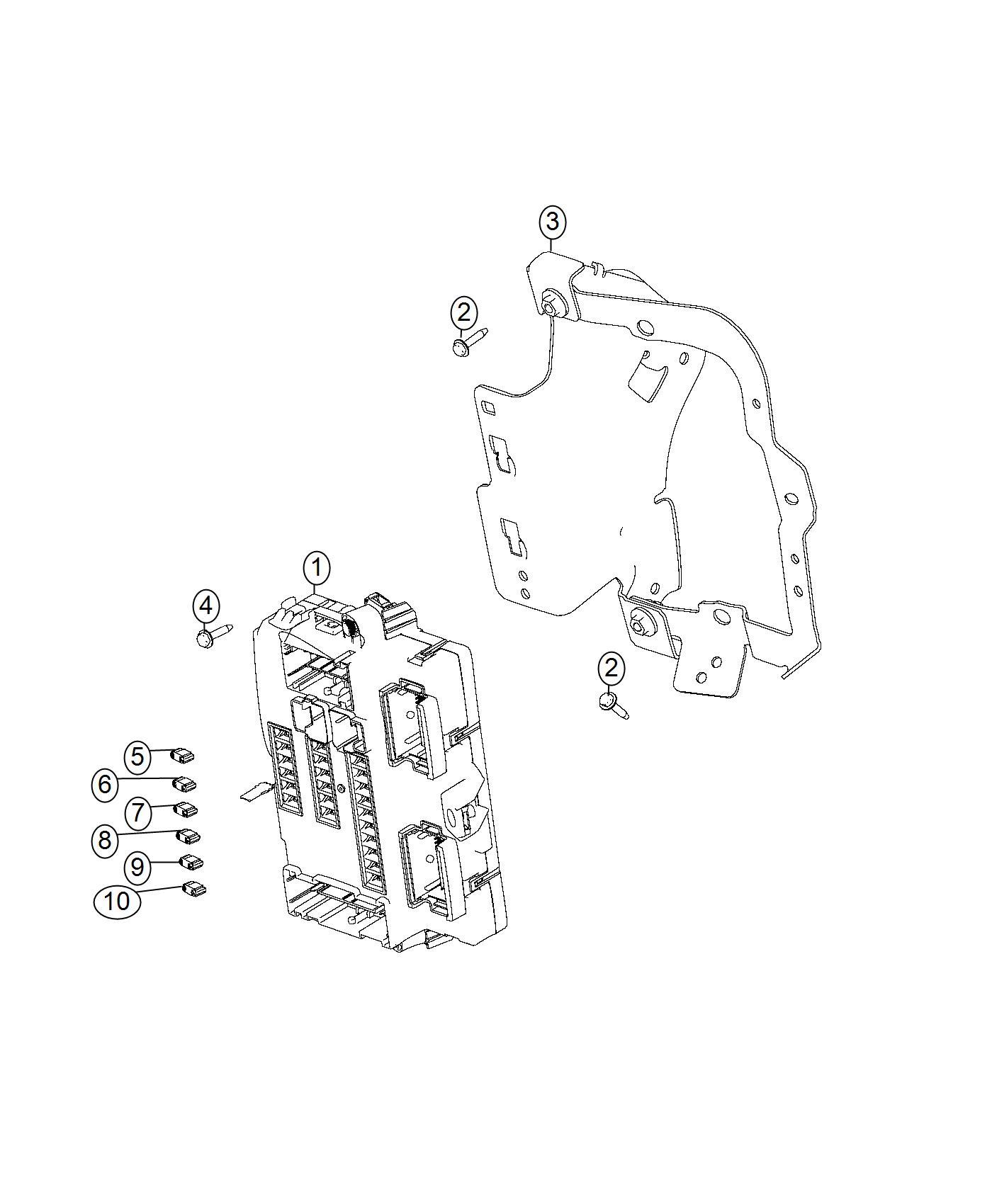 2016 Dodge Dart Module. Body controller. [high intensity