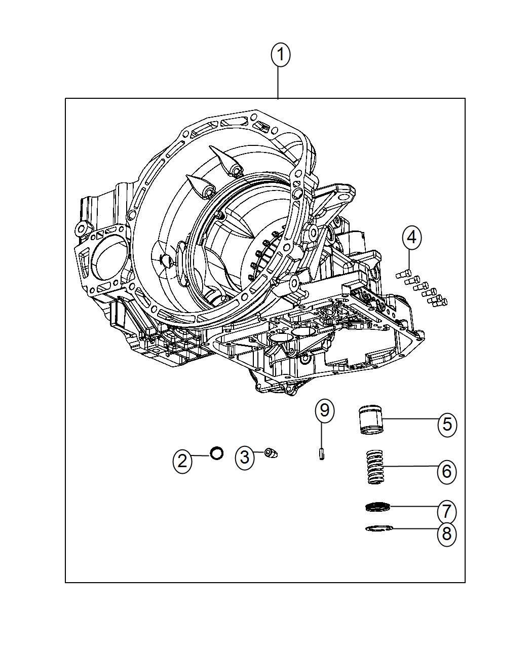 Dodge Journey Case Transaxle Power Train Module