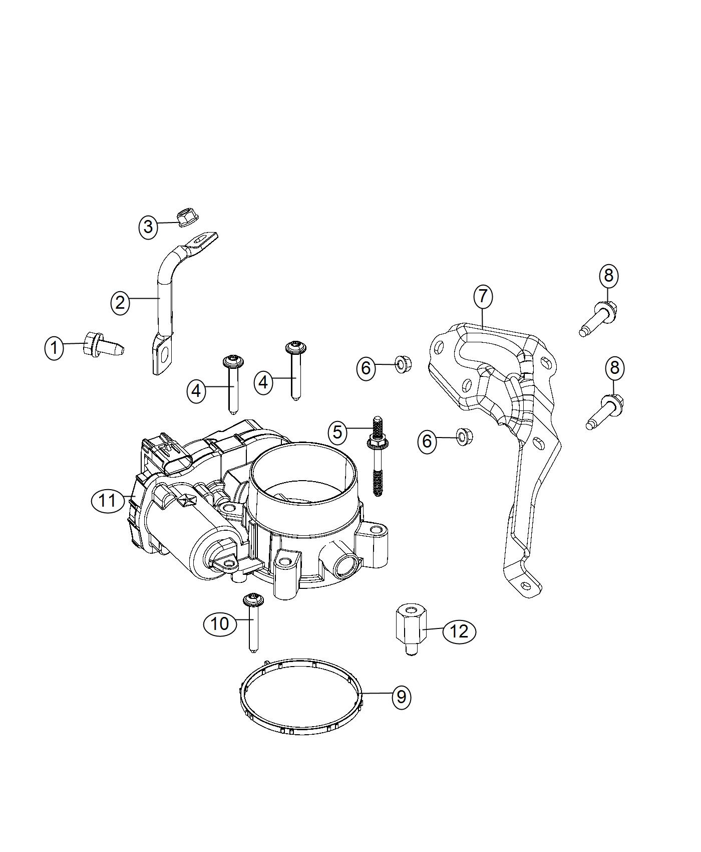 Jeep Renegade Spacer Enginesel Controller