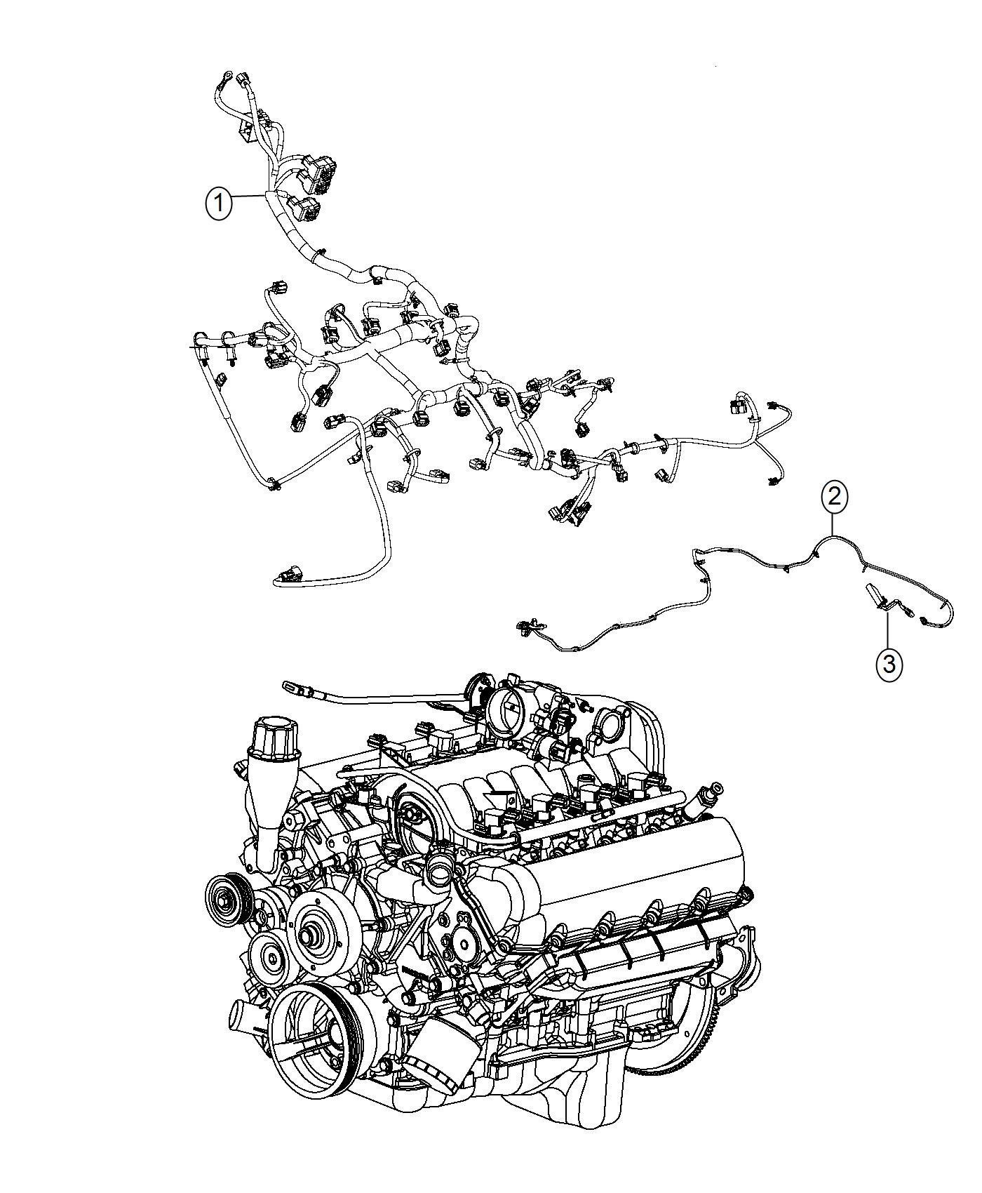 Ram 4500 Wiring. Jumper. Engine. Mds jumper. Powertrain