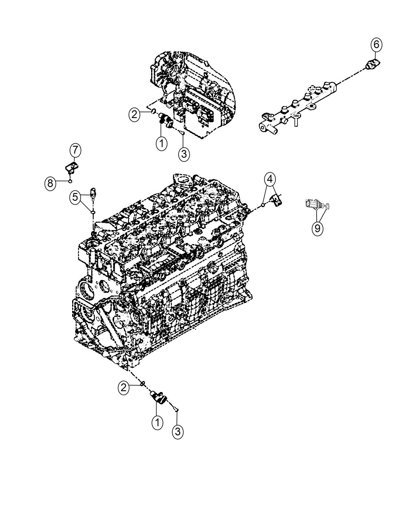 Ram Sensor Exhaust Temperature Exhuast