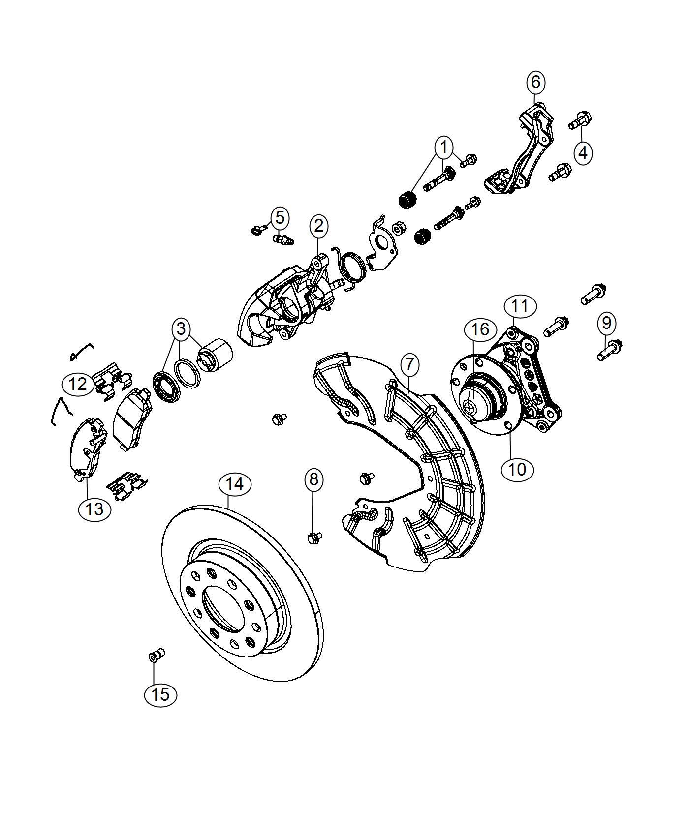 Dodge Dart Caliper Disc Brake Brake And Knuckle Parts