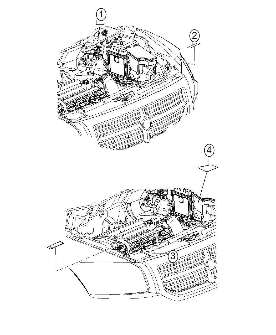Dodge Dart Label Air Conditioning System