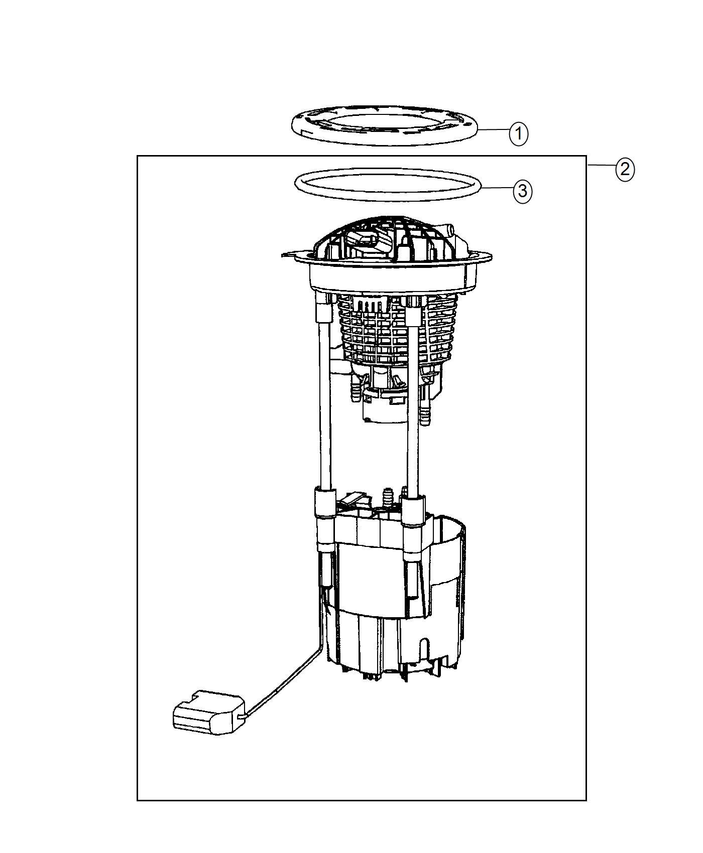 Ram Module Kit Fuel Pump Level Unit Tank Gallon