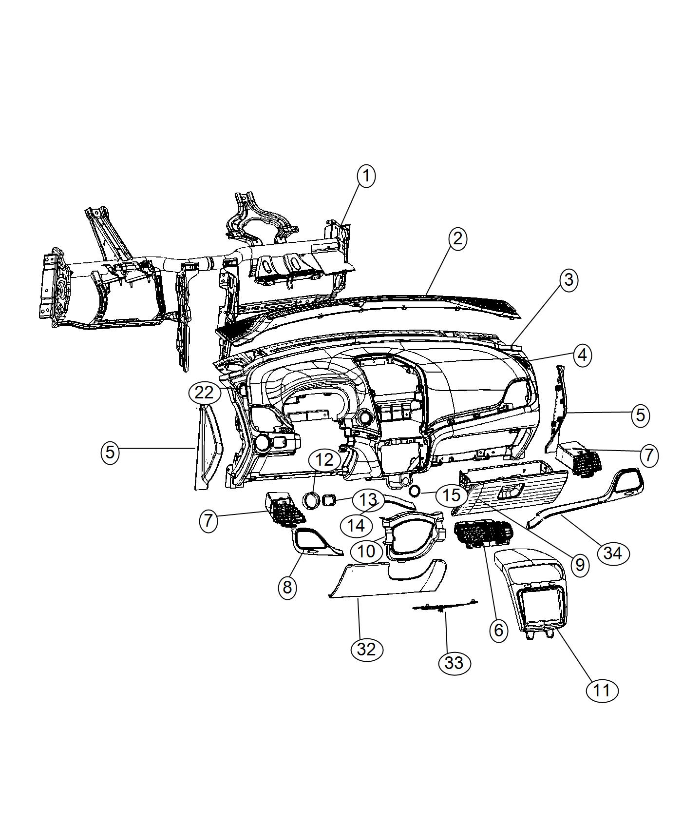 Dodge Journey Outlet Used For Air Conditioning And