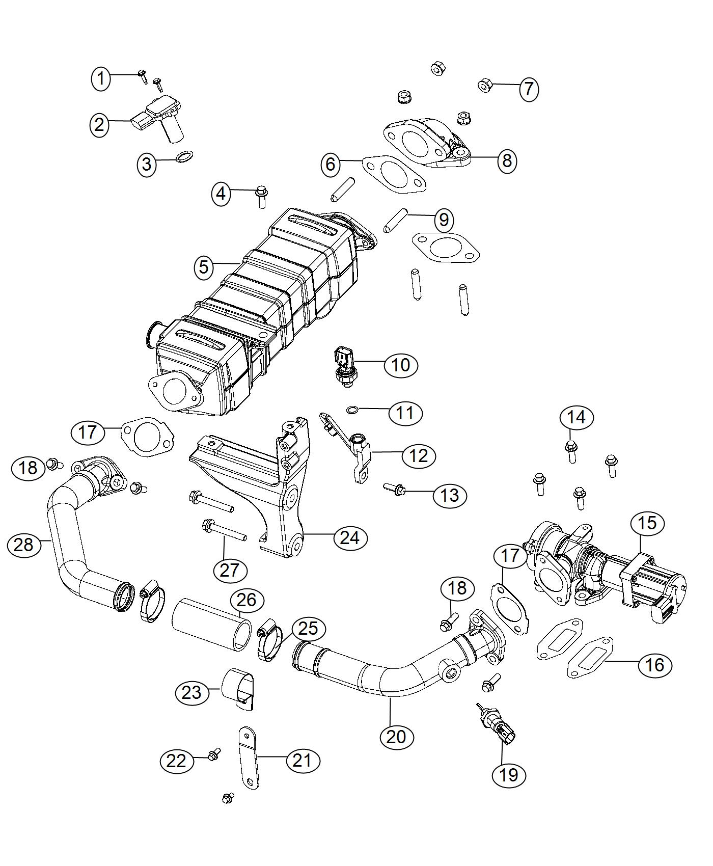 Ram Clamp Emissions State Egr