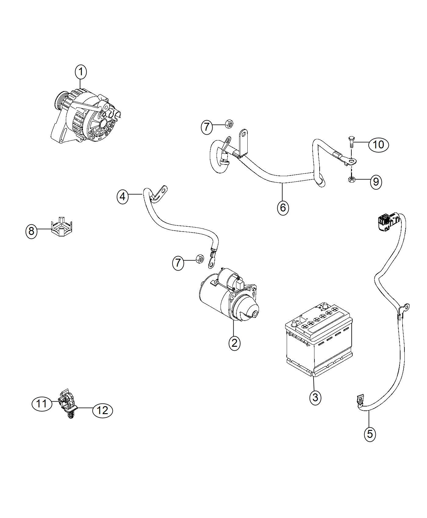 Ram Promaster City Wagon Screw Hex Head M8 Export
