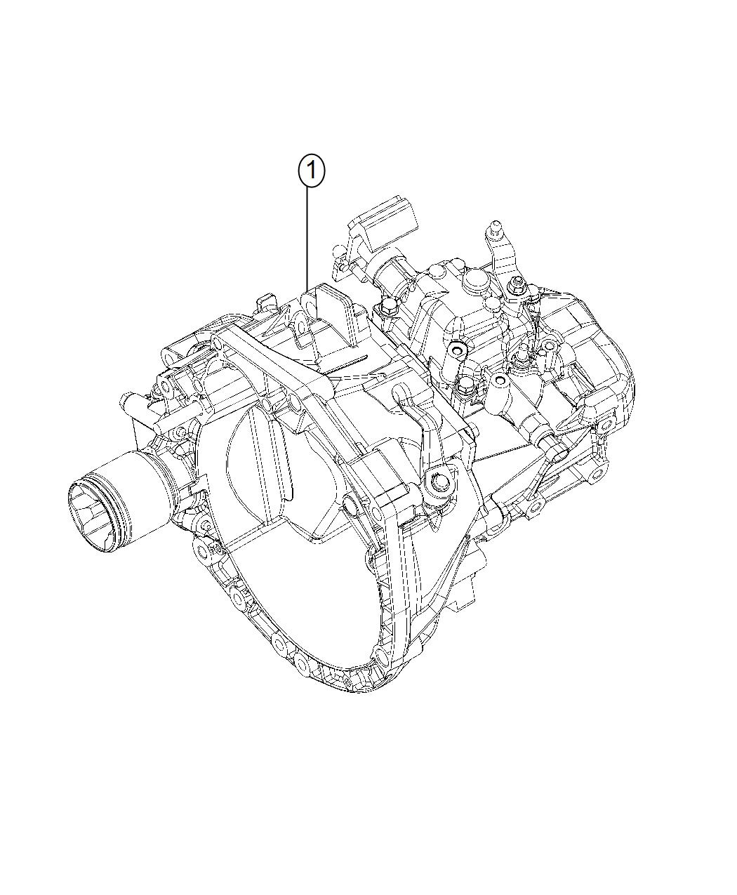 Fiat 500 Transmission. 5 speed. [3.73 rear axle ratio