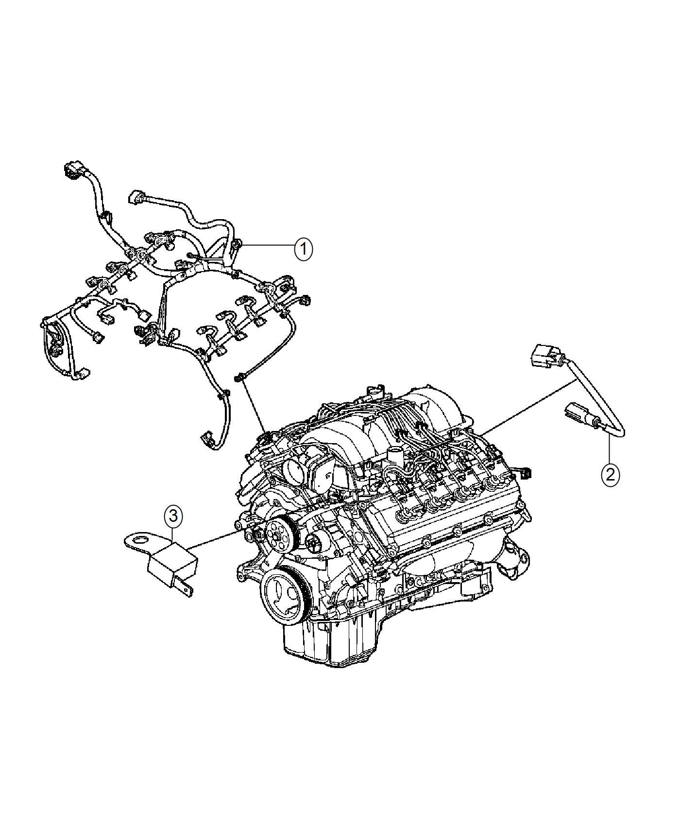 Dodge Challenger Wiring Engine