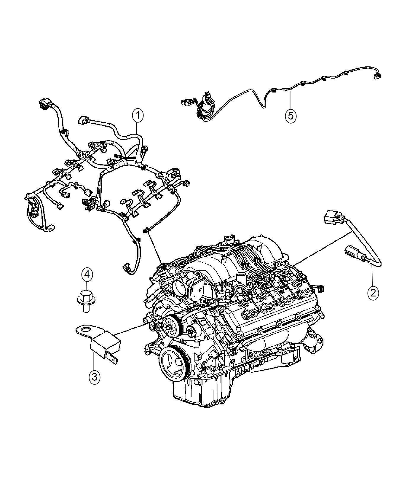 Chrysler 300 Wiring Engine Powertrain Mopar Electrical