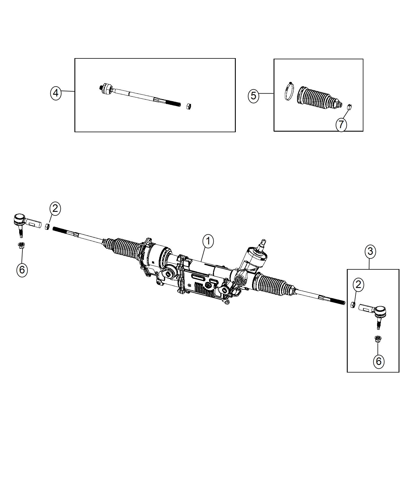 Dodge Charger Tie Rod End Outer Left Normal Duty