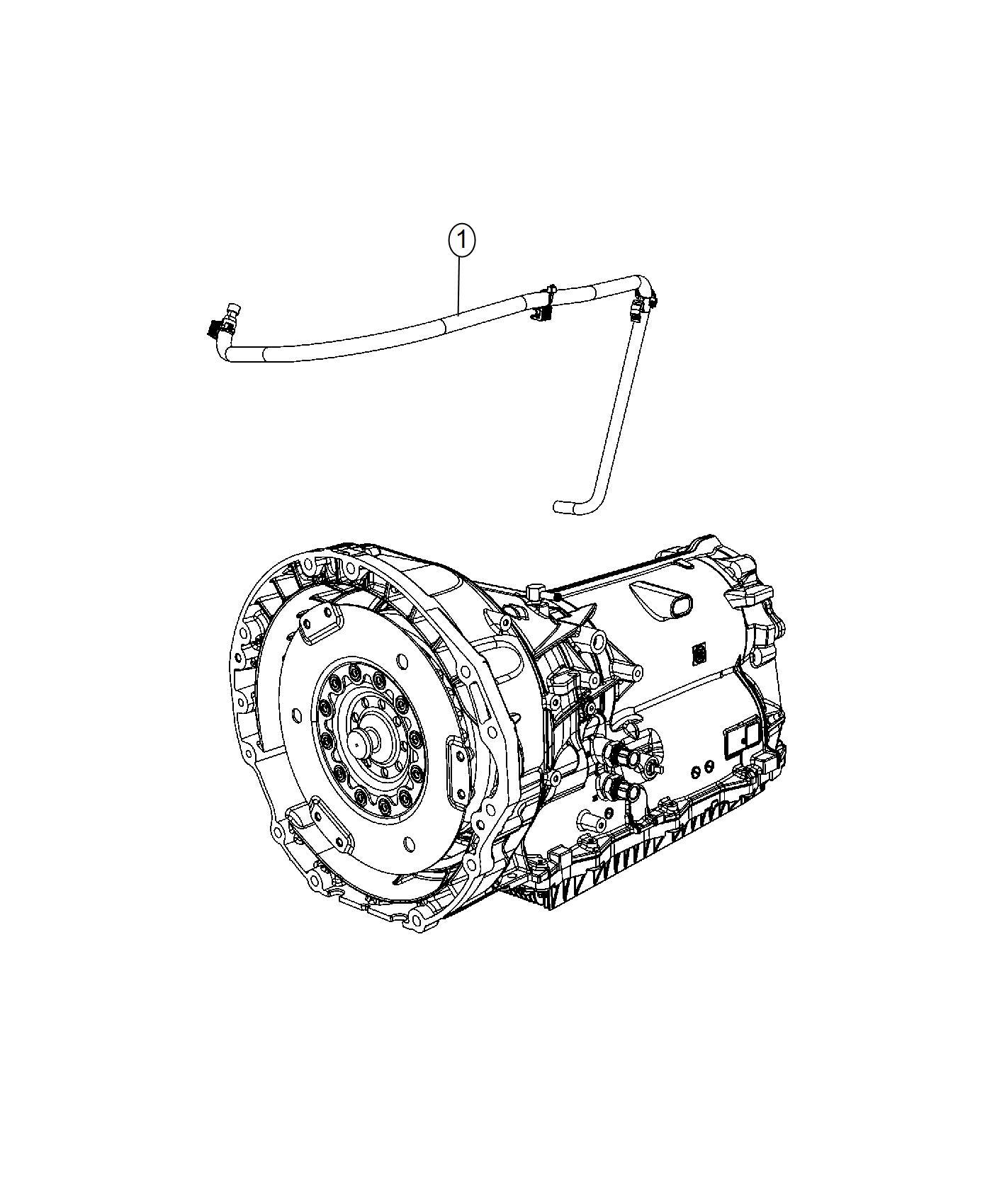Chrysler 300 Vent Transmission