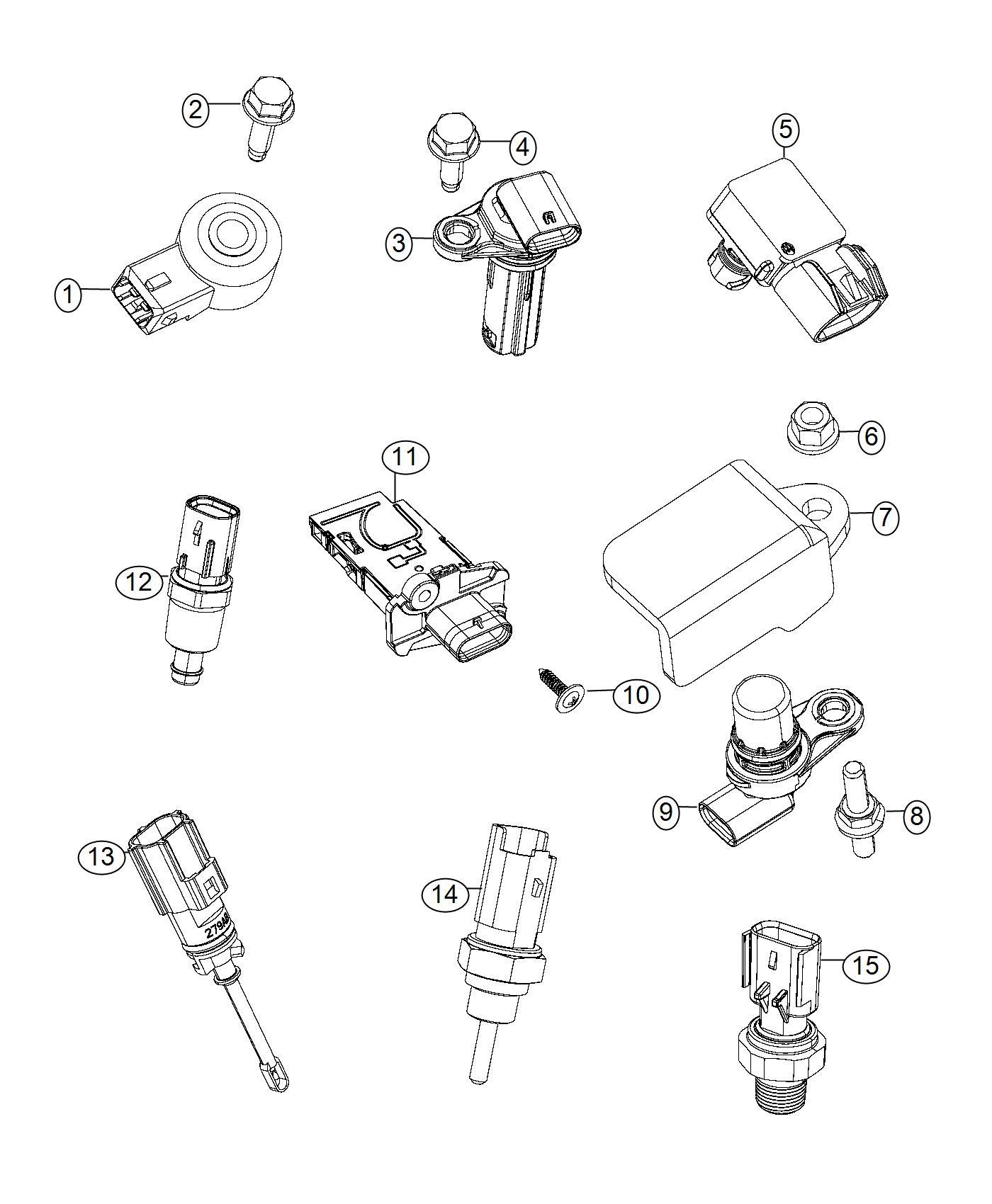 Jeep Renegade Sensor Mass Airflow Export Flex
