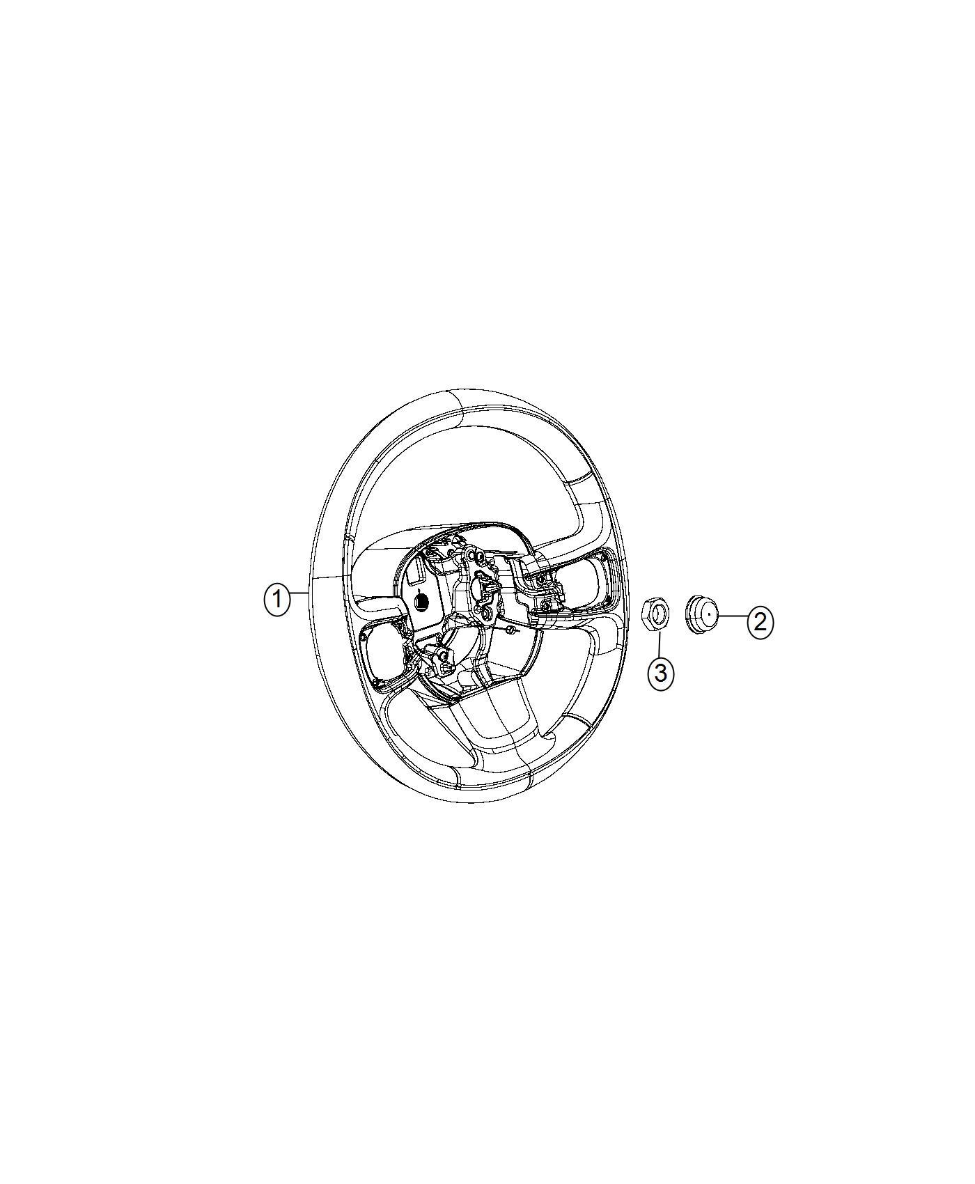Ram Promaster City Wagon Nut M16x1 5 Steering