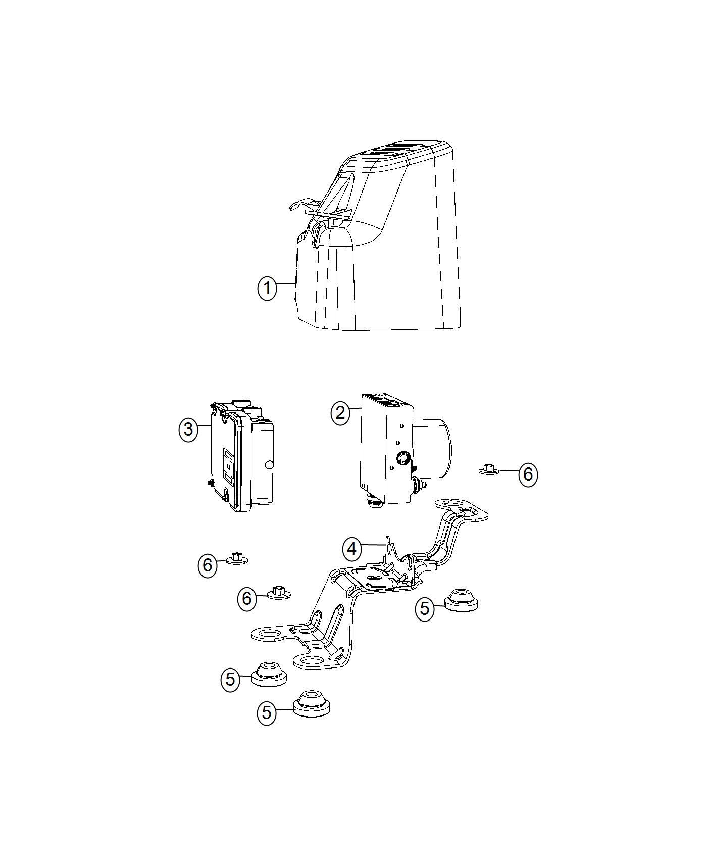 Chrysler Pacifica Module Anti Lock Brake System