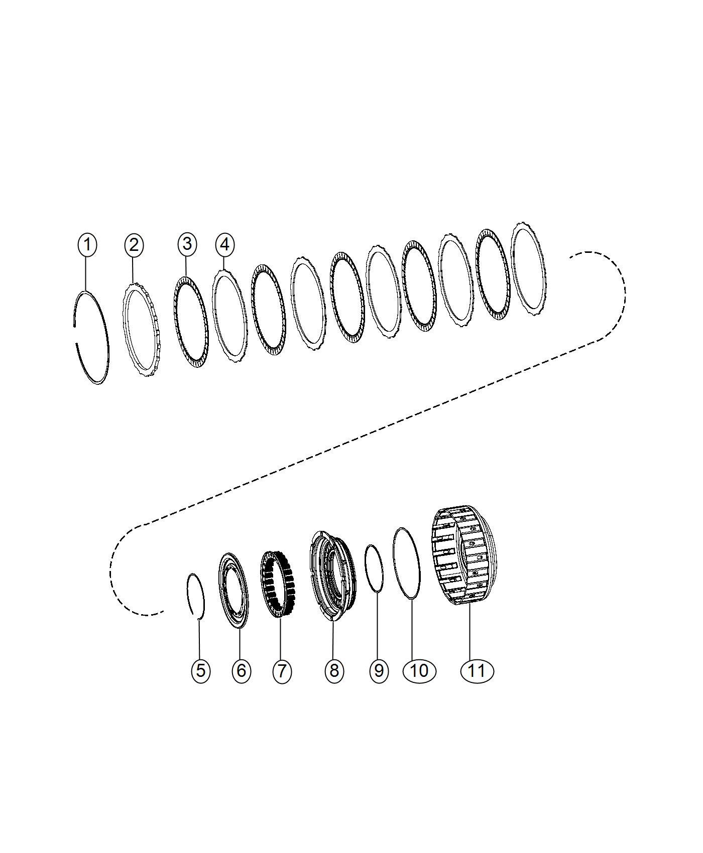 Ram Plate Clutch Separator Transmission O Drive