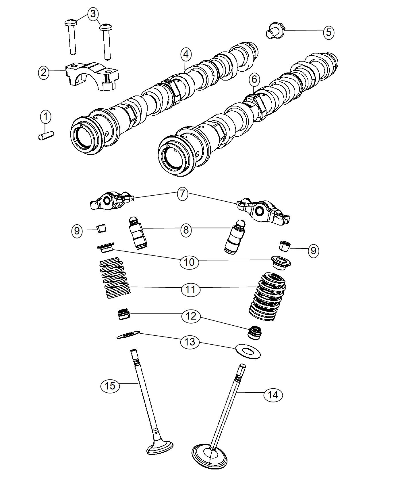 Jeep Cherokee Rocker Arm Valve