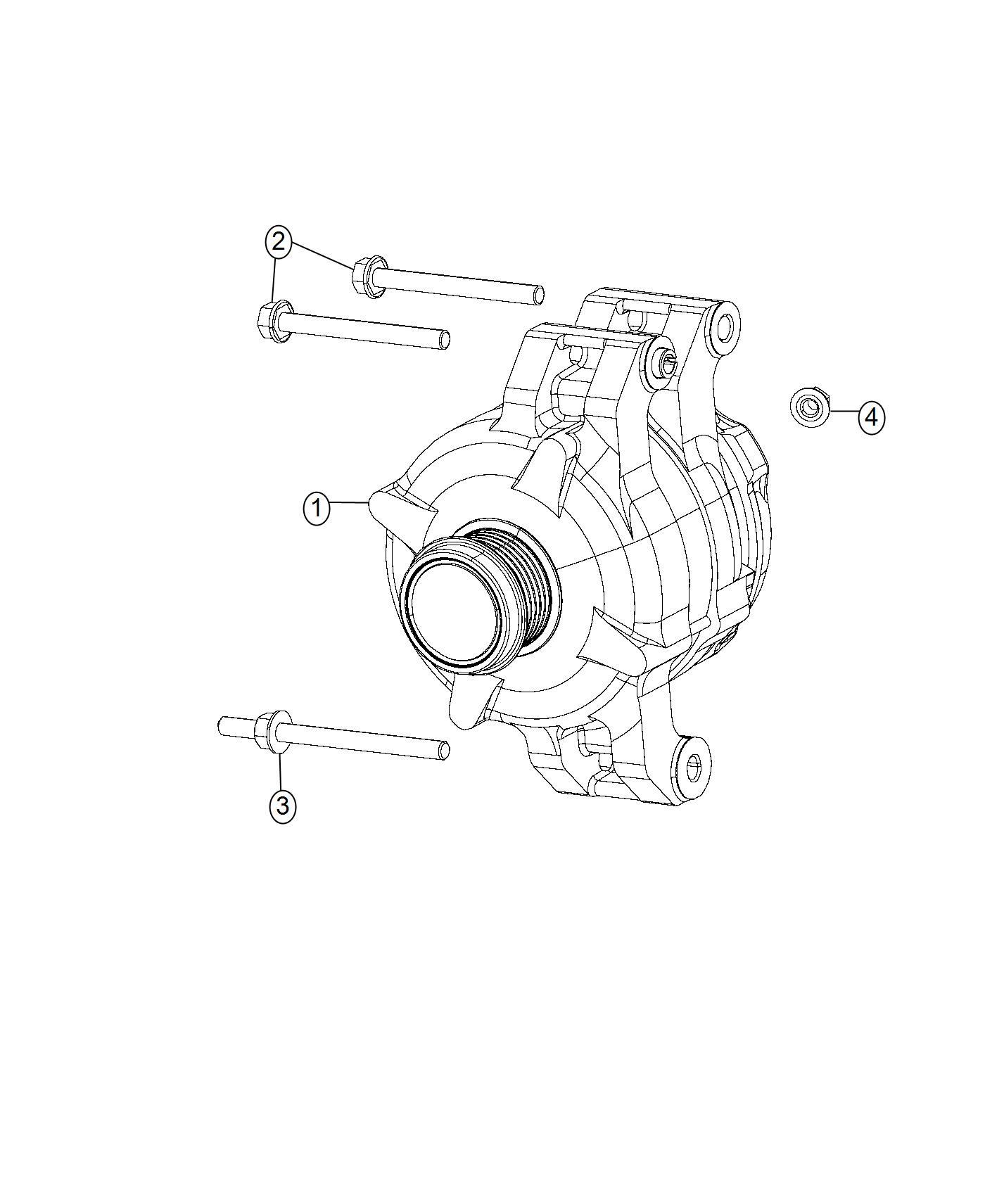 Jeep Grand Cherokee Generator. Engine. [220 amp alternator
