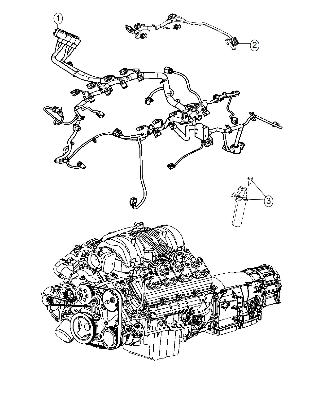 Jeep Grand Cherokee Wiring. Engine. Powertrain, mopar