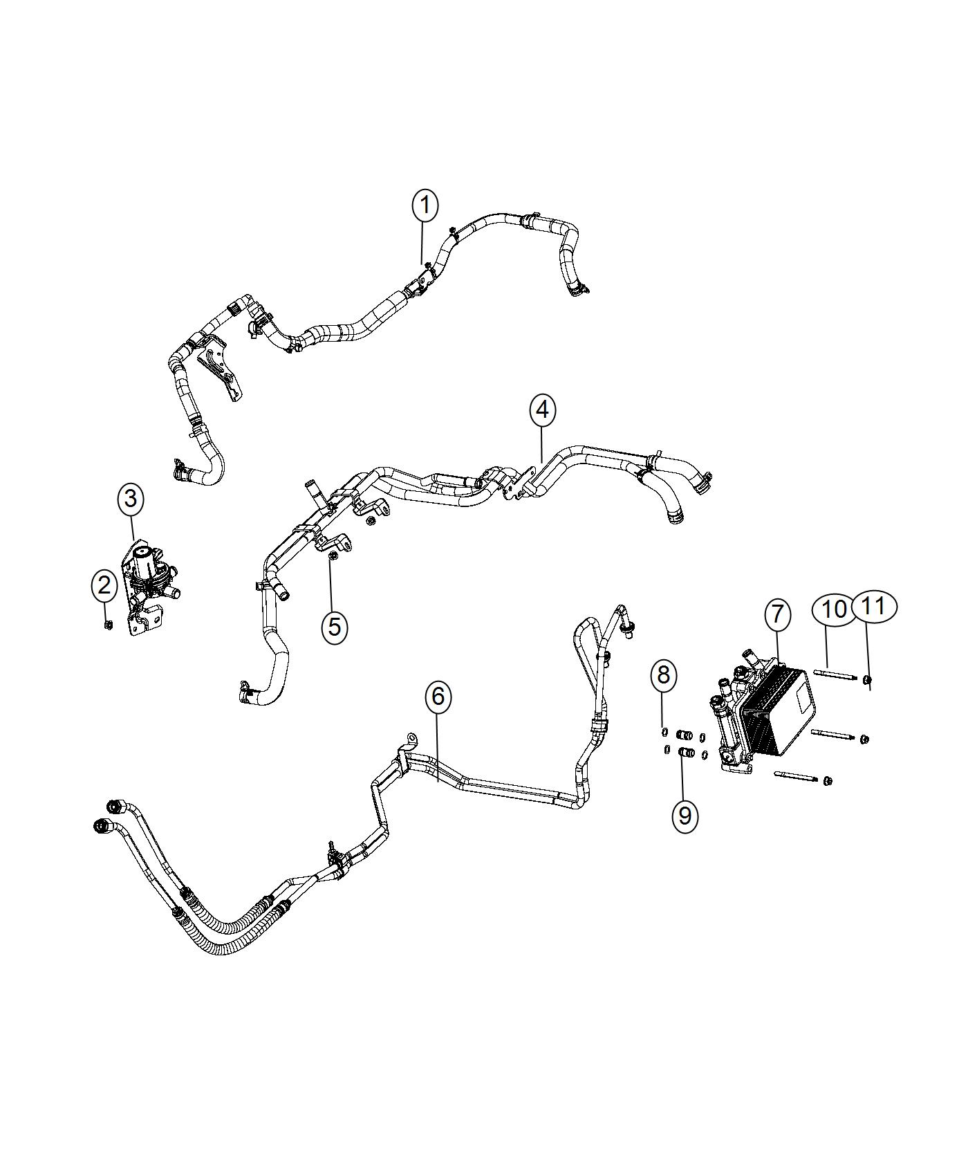 Ram Hose Heater Core Used For Supply And