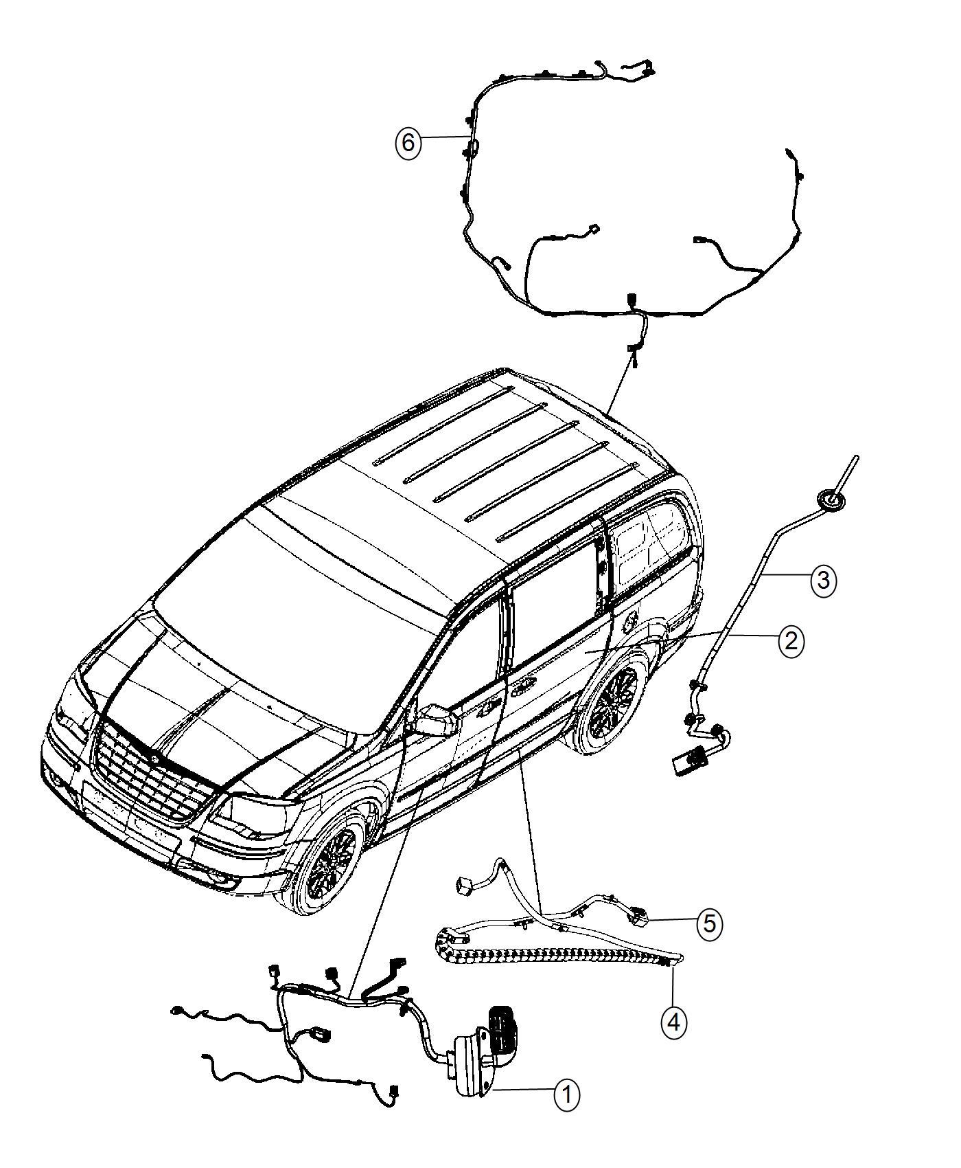 Dodge Grand Caravan Wiring. Sliding door right