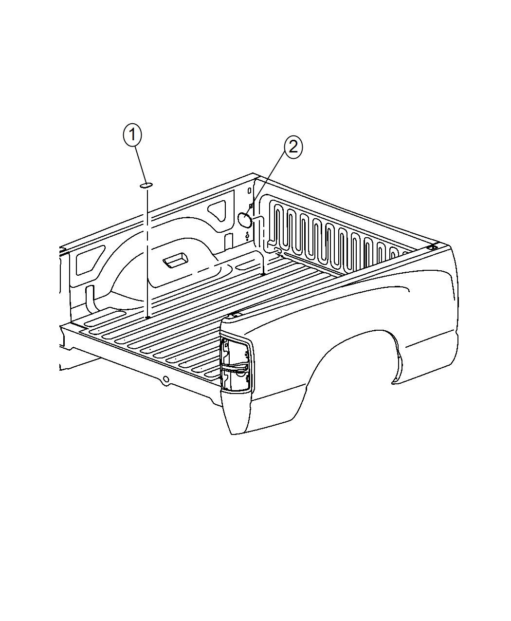 2017 Ram 2500 Cover kit. Trailer tow. [5th wheel/gooseneck