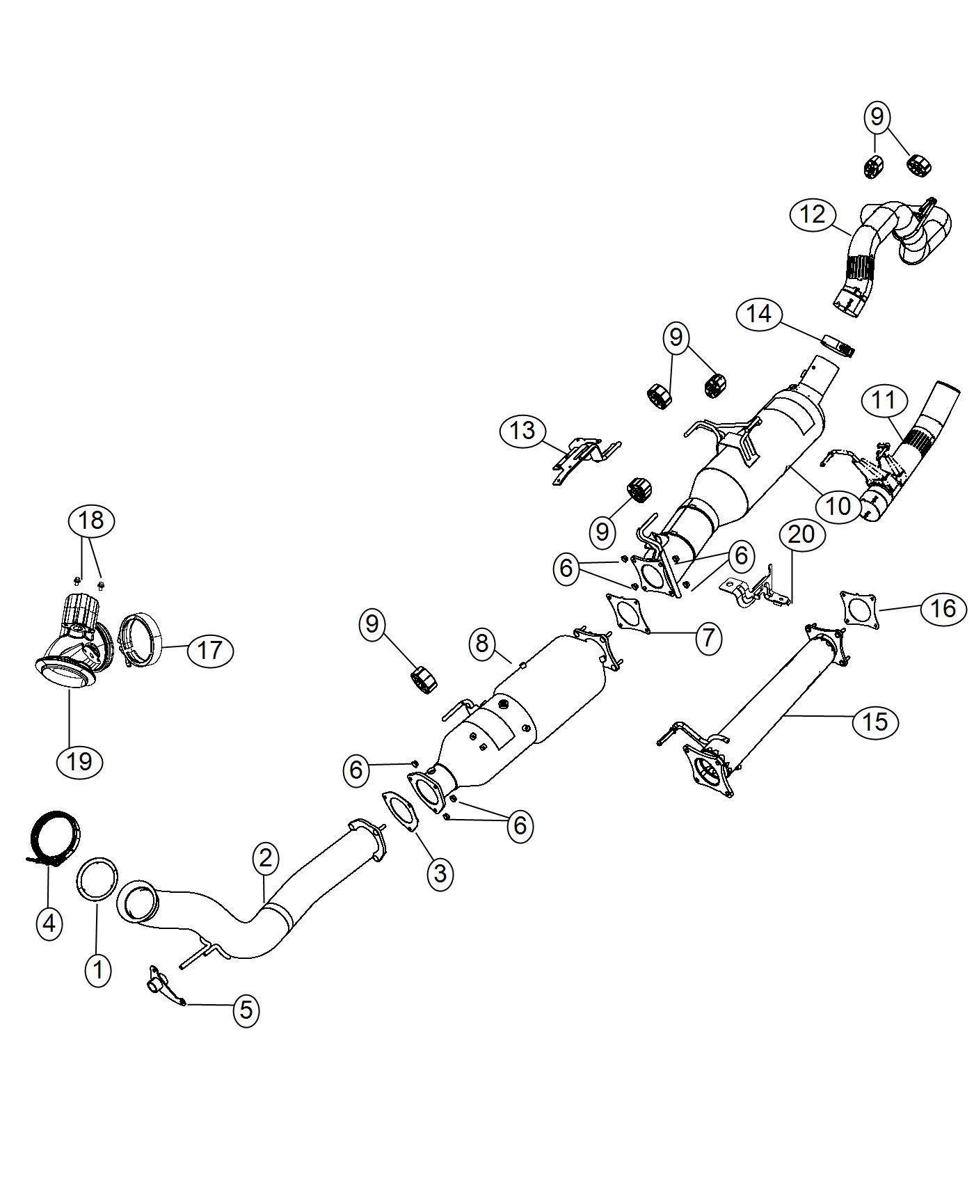 Ram Converter Catalytic Scr With Ammonia Trap