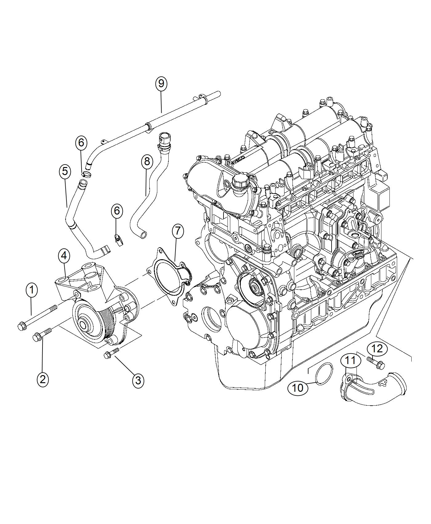 2016 Dodge Ram 2500 Connector. [02], [st]. Engine, diesel