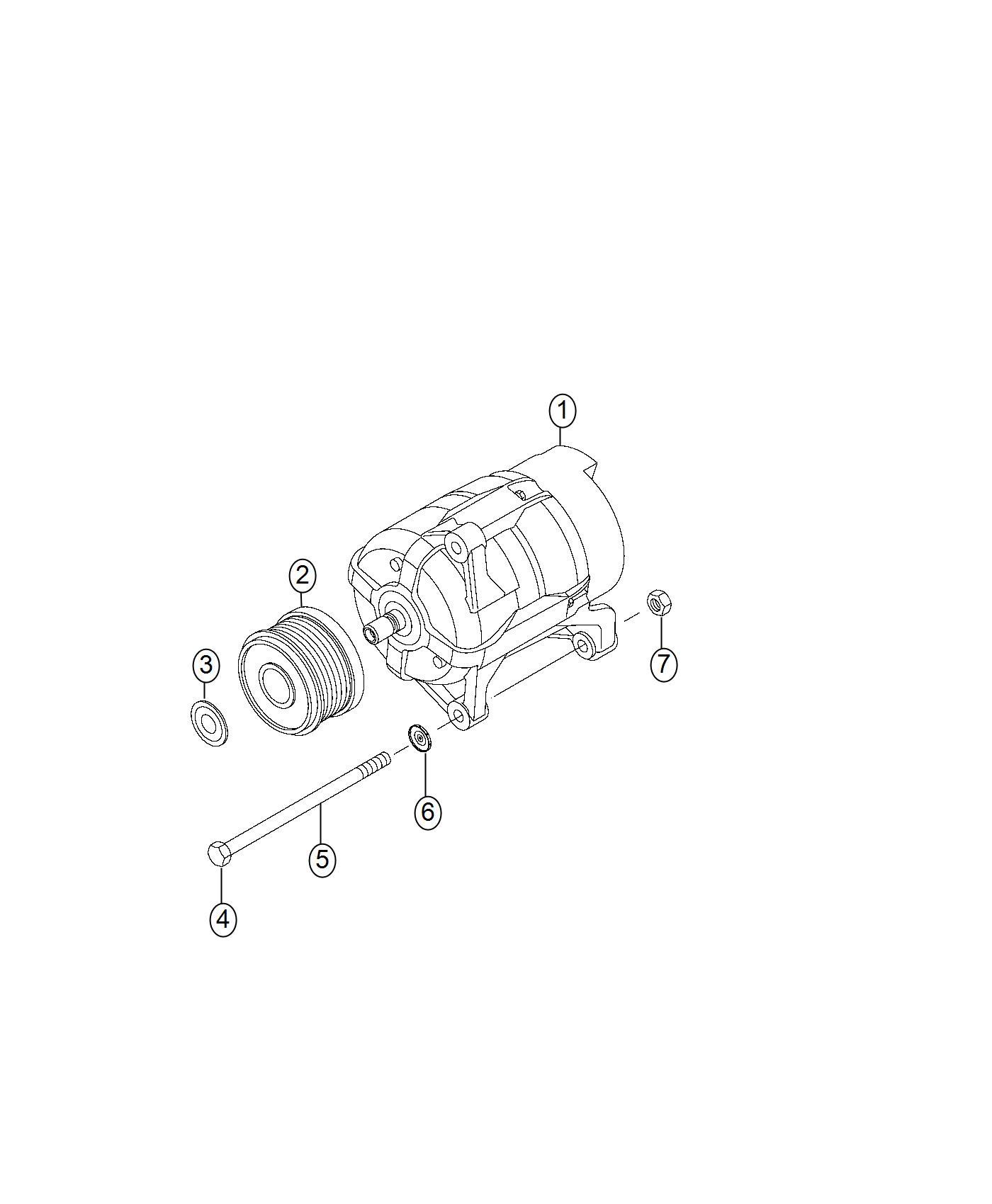 Ram Generator Engine Heater Alternator Amp