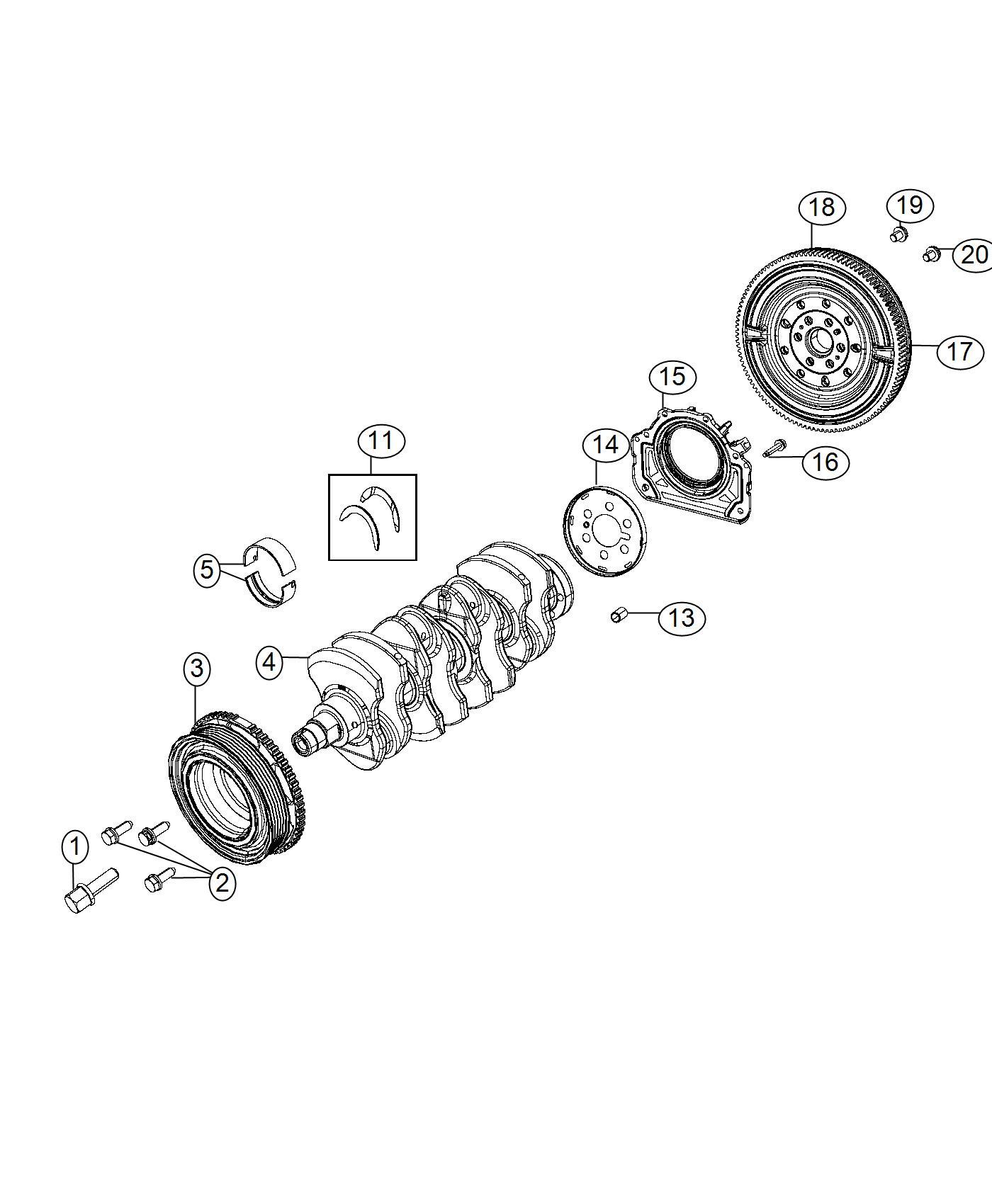 Fiat SPIDER Flywheel. [6-spd manual rwd transmission