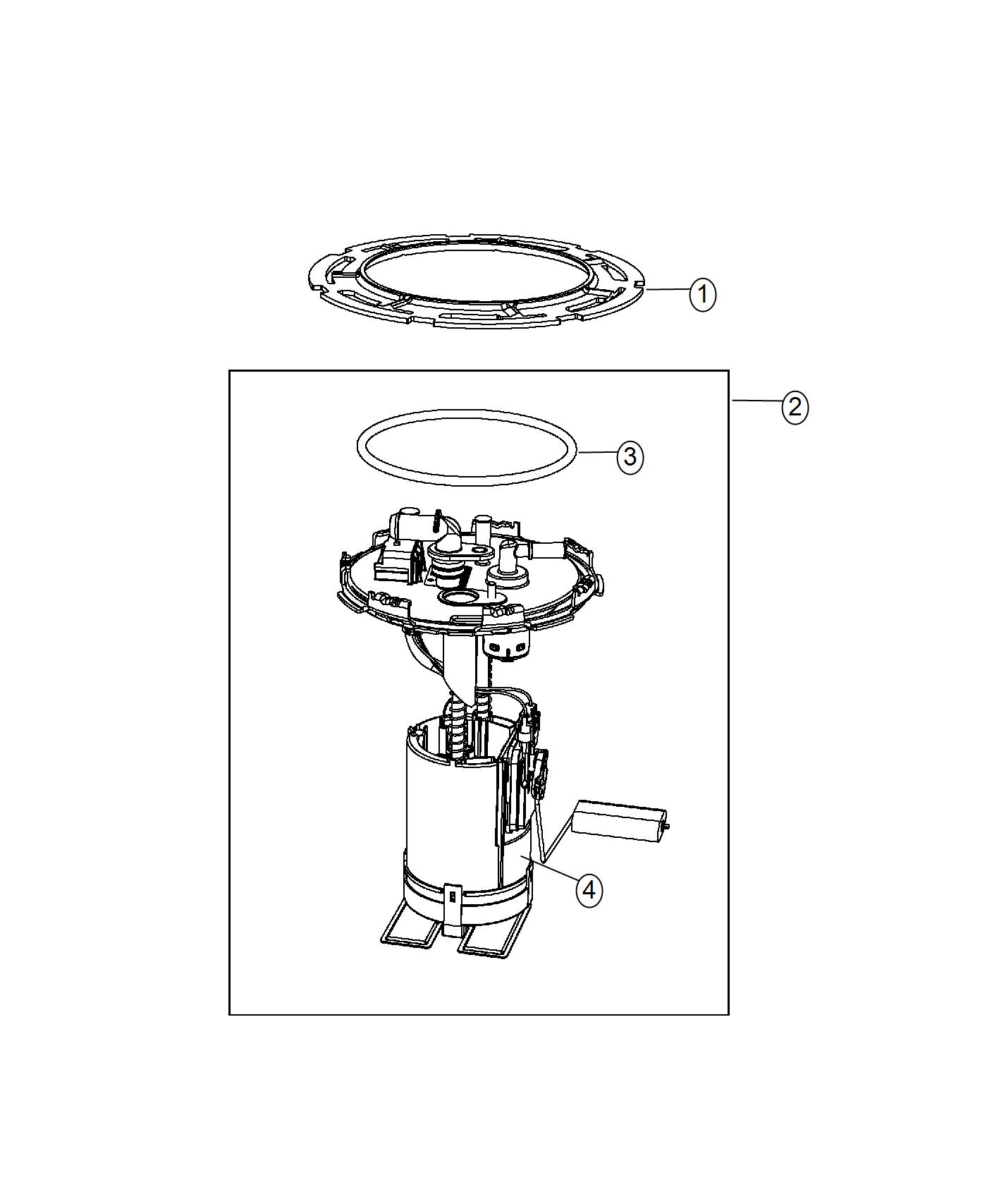 2017 Fiat 500L Pump. Fuel. Maintenance, system