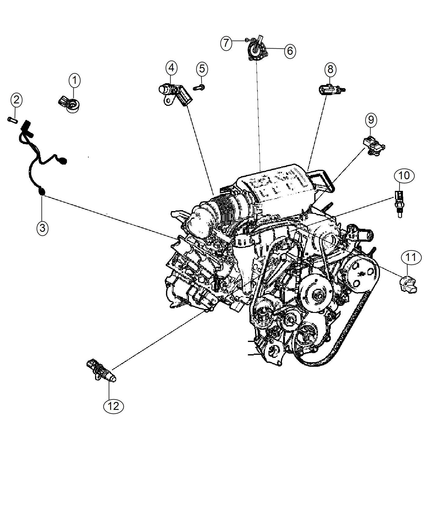 2017 Jeep Wrangler Wiring. Used for: knock, oil pressure