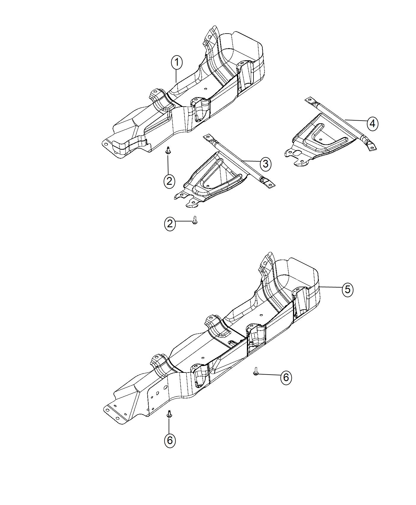 Jeep Wrangler Skid Plate Transfer Case China Chassis
