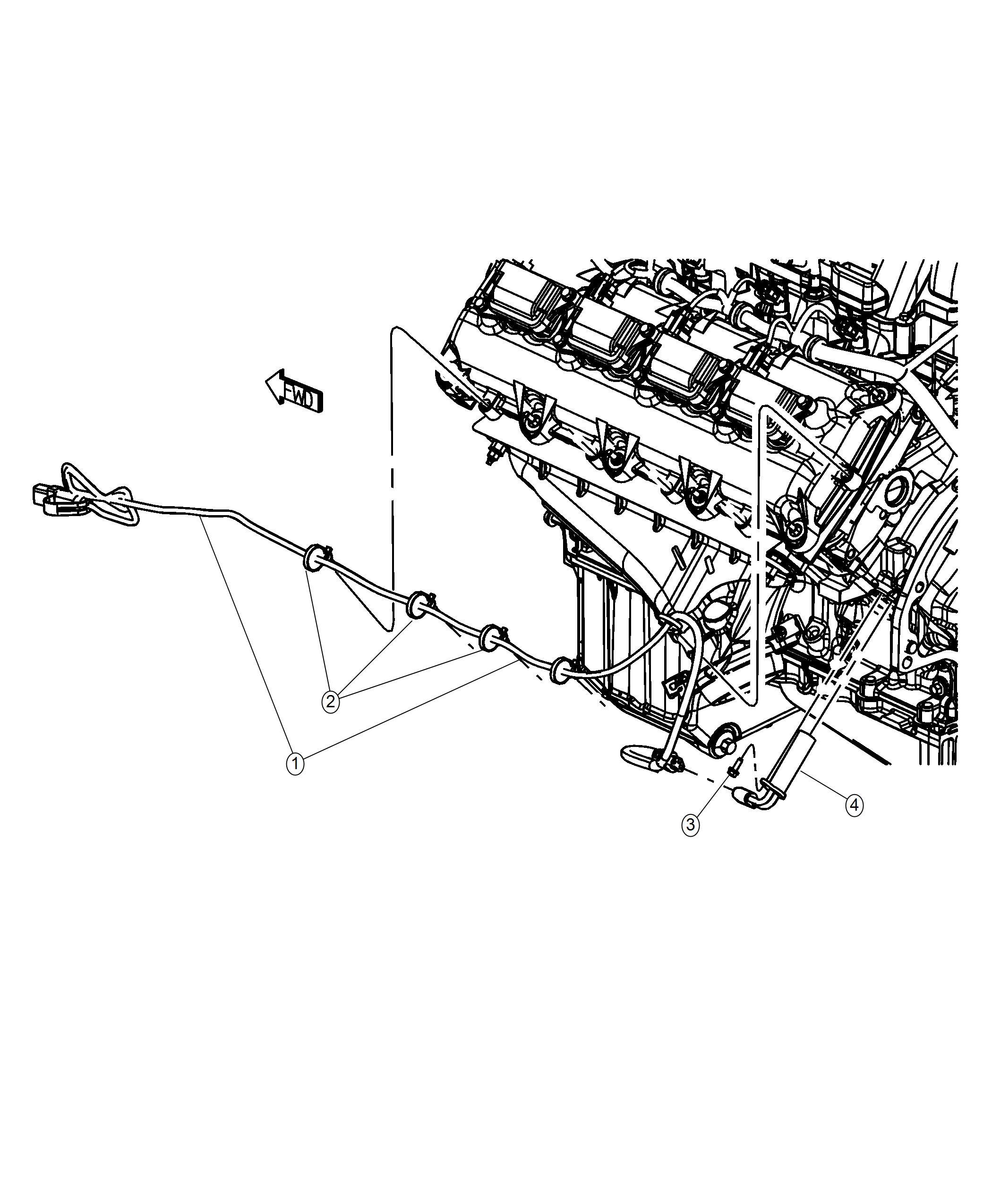 Dodge Challenger Cord Engine Block Heater Engine